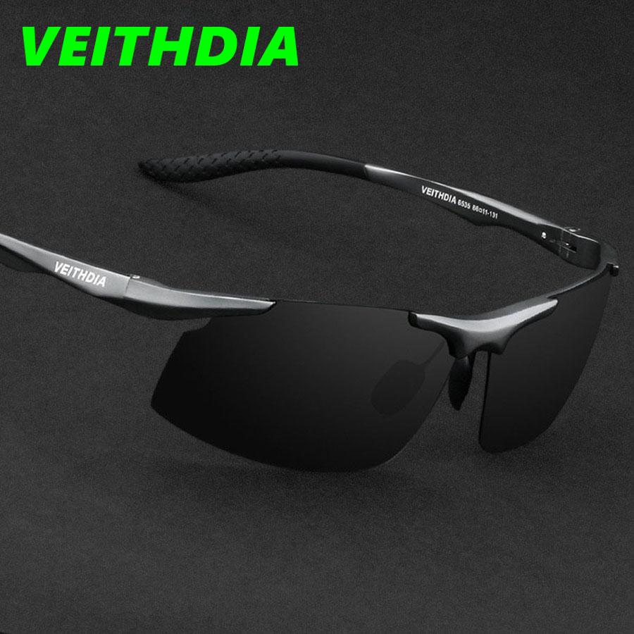 New UV400 Men Polarized Sunglasses Brand Logo Design Driving Sports Sun Glasses Goggles 2016 Outdoor Accessories 6535(China (Mainland))