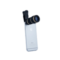 Universal Clip 8X Telephoto Lens Phone Camera Zoom Lens Optical Lenses For iphone 5s 6 Samsung
