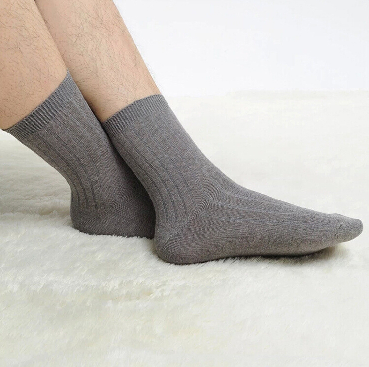 8pcs=4pair/lot Autumn-winter Brand The best quality new men's working socks bamboo fiber casual wholesale deodorant sweat(China (Mainland))