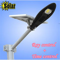 2015 NEW Super bright 12V 12W solar panel power 8W COB LED street lamp 800LM Outdoor