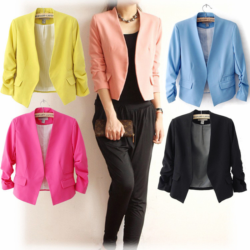 Ladies cheap blazers online shopping at manga-hub.tk is a good choice. This website has a collection of blazers in different styles, such as vogue velvet blazers, corduroy blazers and checked blazers, and many colors, such as white, blue, red, grey, black, pink,navy, yellow, green,burgundy, blue, orange, brown, khaki, yellow and so on.