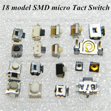 18 model 180pcs SMD micro Switch side button switch widely used for MP3 MP4 MP5 Tablet