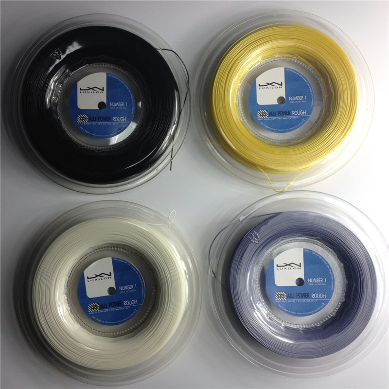 Clearance Luxilon tennis string Alu Power Rough 125 big banger 200m/reel tennis string 16L Luxilon string polyester string(China (Mainland))