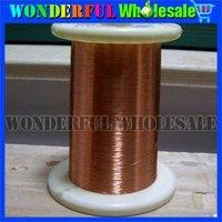 Sample:0.1mm*1000m/pc,length,QA-1-155 Copper Wire/Copper Line/Enameled copper wire