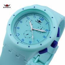 EPOZZ Ladies Swimming Silicone Sports Watch Girl Quartz Analog Clock Waterproof reloj mujer relogio feminino montre