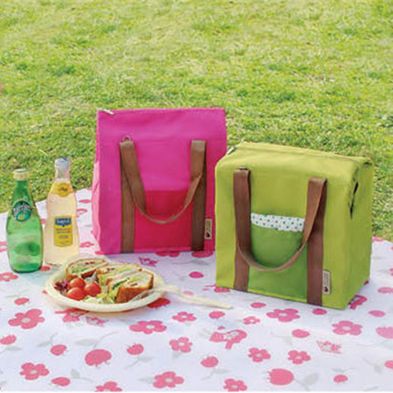 Promotion Insulated Tinfoil Cooler Thermal Picnic Lunch Bag Waterproof Travel Tote Picnic Organizer Sorting Storage Handbag(China (Mainland))