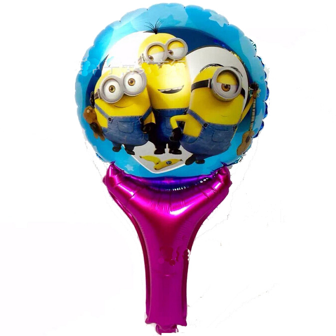 Children Love Minion Cartoon Foil Balloon Globos, Minions Balloon Toys for Kid Gifts Birthday Decoration(China (Mainland))