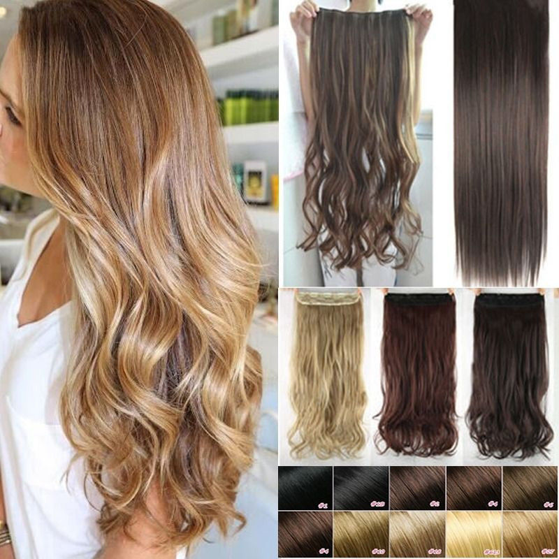Clip In Extensions For Short Thick Hair Styling Hair Extensions
