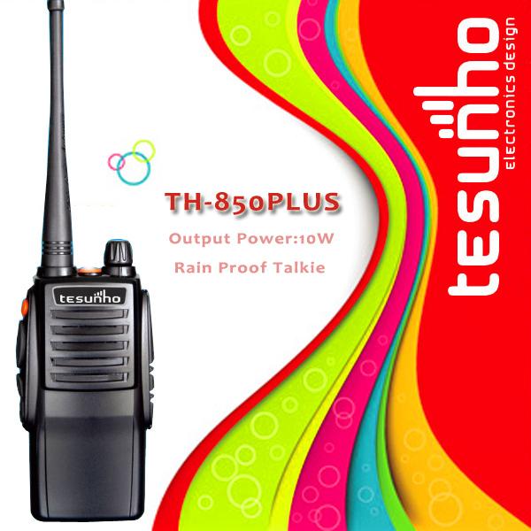 TESUNHO TH-850PLUS high power quality durability professional two way radio 10w(China (Mainland))