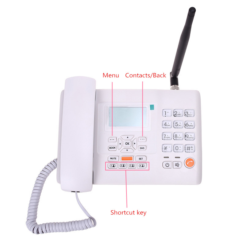 F501 GSM900MHz fixed wireless telephone_5