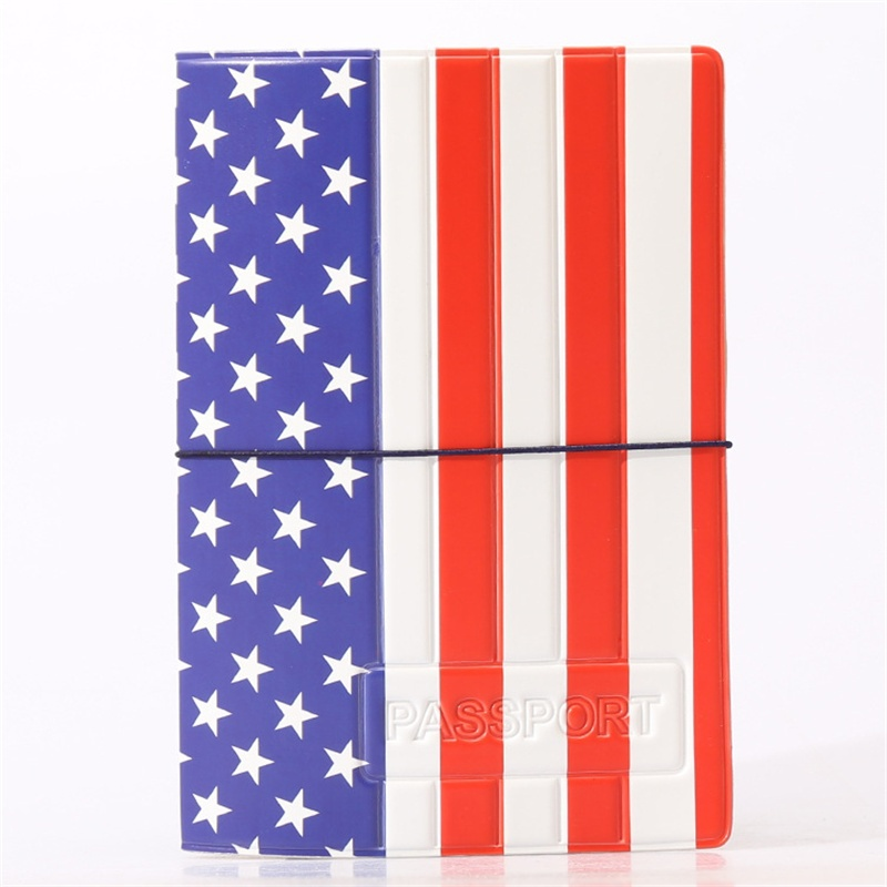 National Flag Passport Holder PVC/PU Leather Passport Cover Travel Wallet Organizer Card Case free shipping<br><br>Aliexpress