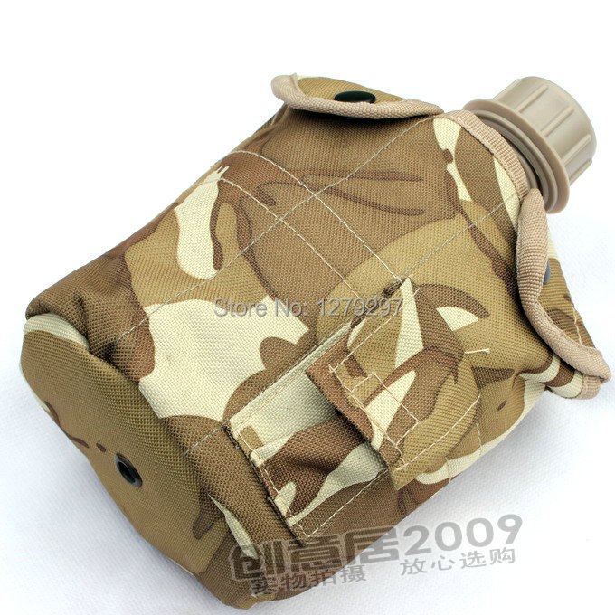 Camouflage outdoor travel pot with aluminum box single kettle non-toxic environmental protection(China (Mainland))