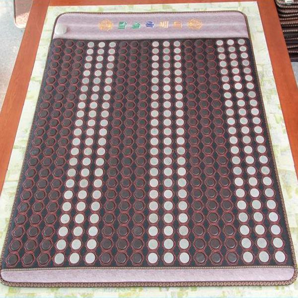 2015 Best Selling Electric Heating Jade Stone Mattress/Mat/Pad Heated Health Mattress Szie 1.2X1.9M Free Shipping(China (Mainland))