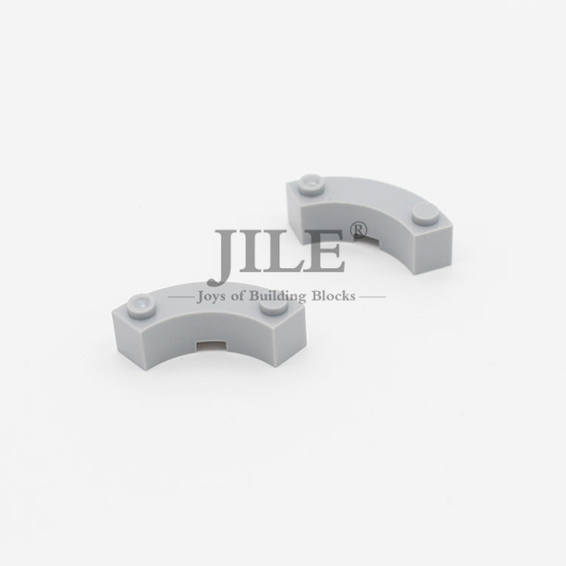 New LEGO White BRICK 4x4 Round Corner Wide with 3 Studs Macaroni Part 48092