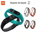 Xiaomi Mi Band 2 Wristband Bracelet OLED Display Touchpad Smart Heart Rate Monitor Bluetooth Fitness