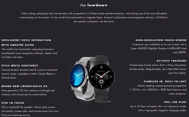 smart co watch 0