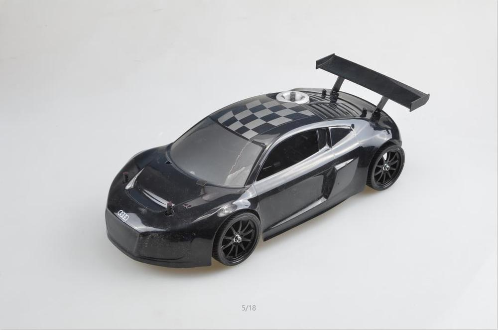 remote control car run flat fuel 1/10 rc car Nitro drift car GO18 engine grade metal Differential(China (Mainland))