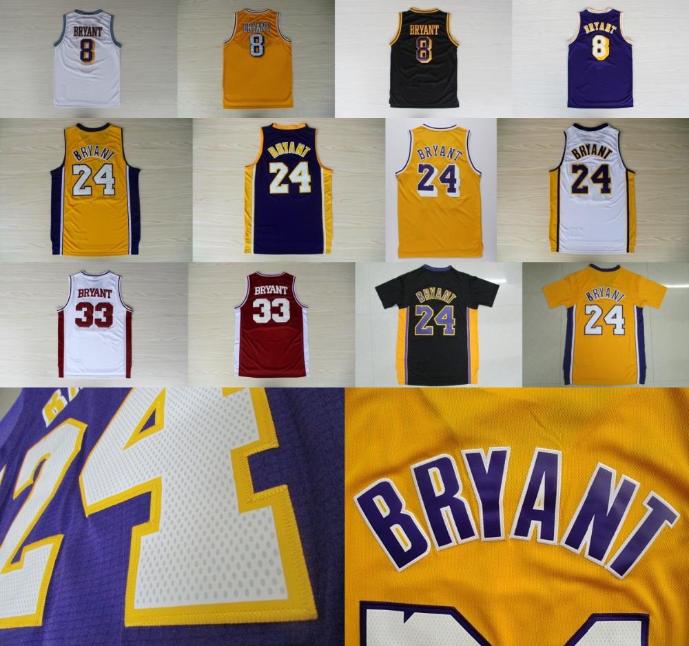 Aliexpress.com : Buy Kobe Bryant Jersey Red White Yellow Purple