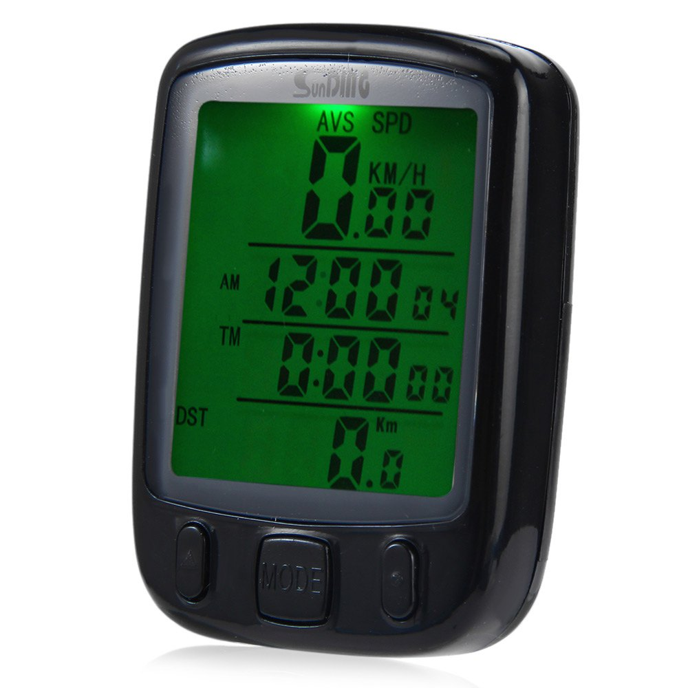 High Quality SD-563 Wireless Multi Function Waterproof Bicycle Computer Odometer with LCD Backlight Accessories with Battery(China (Mainland))