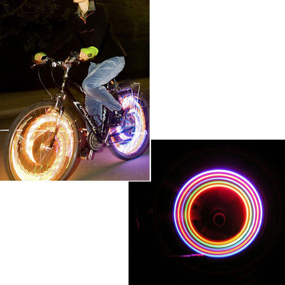 5 LED Lights Lamp 7 Flashing Model Bicycle Cycling Decor Wheel Tire Valve Cap Neon Lights PHM318P60(China (Mainland))