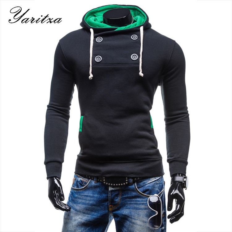 2015Winter New Hoody Sweayshirts Coat Color Sweatshirts Men's Hoodies High Quality Sport Suits For Men moleton masculino hoodies(China (Mainland))