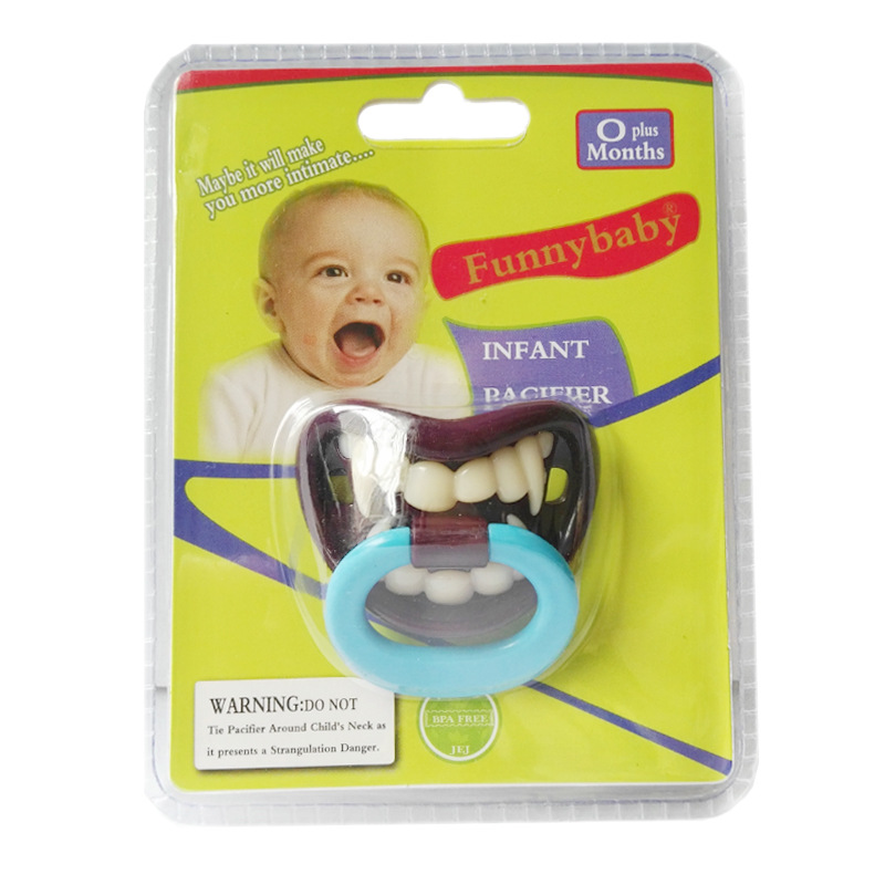 5Pcs Horror Vampire Style Baby Pacifier Silicone Soother Nipple For Newborn Infant Toddler Chupetas Para Bebe(China (Mainland))