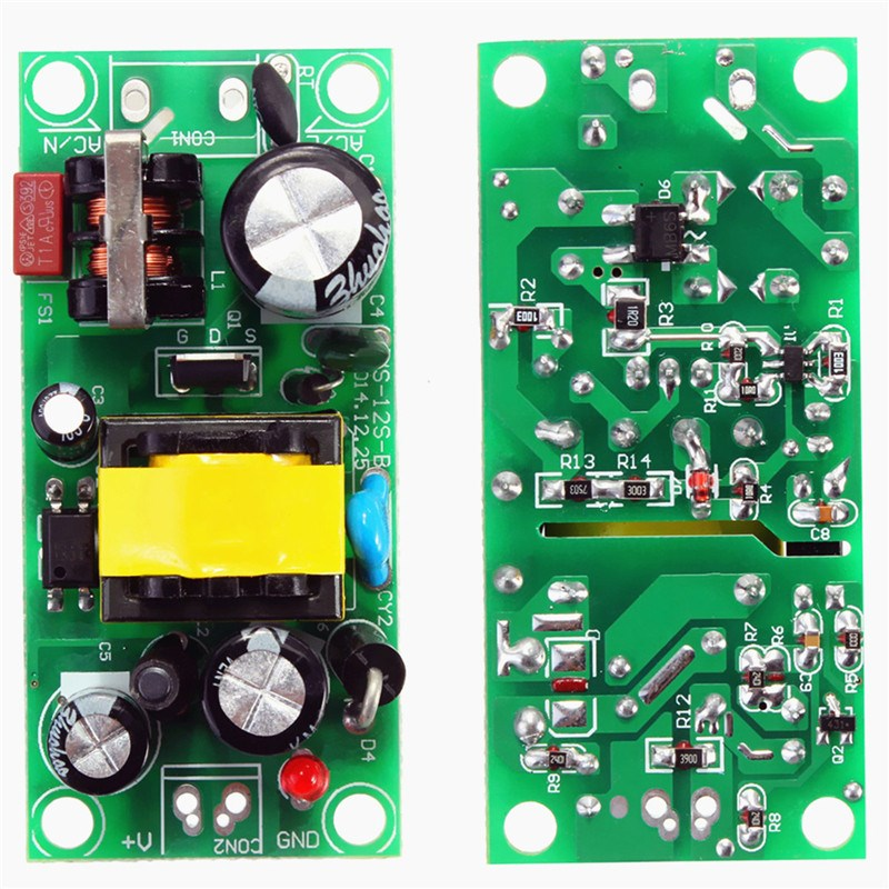 Hot Sale New Arrival DC Power 10W 5V 2A Switching Power Supply Board Converter Transformer Accessories 76 x 31 x 20mm 2000mA(China (Mainland))