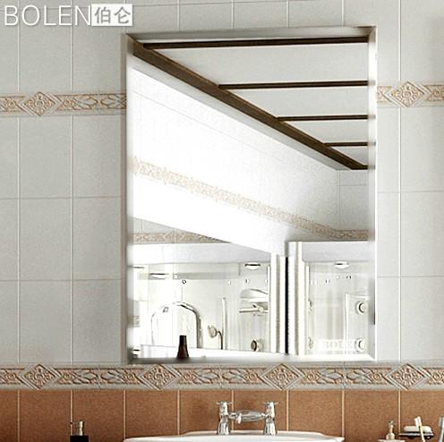 Alta calidad resistente a la humedad sin marco espejo de - Espejos biselados para banos ...