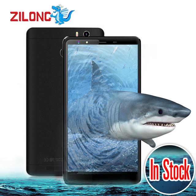 "Original Leagoo Shark 1 4G Smartphone 6.0"" FHD Android 5.1 3GB RAM 16GB ROM MTK6753 Octa Core 13.0MP Fingerprint ID Cell Phones"