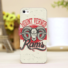 pz0024-1-12 sheep head tattoo Design Customized cellphone cases For iphone 4 5 5c 5s 6 6plus Shell Hard Skin Shell Case Cover