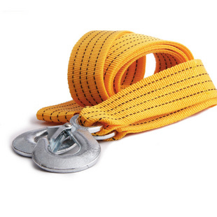 Freeshipping thickening 3.5 meters trailer rope car towing rope pulling rope trailer belt off-road auto accessories trailer hook(China (Mainland))
