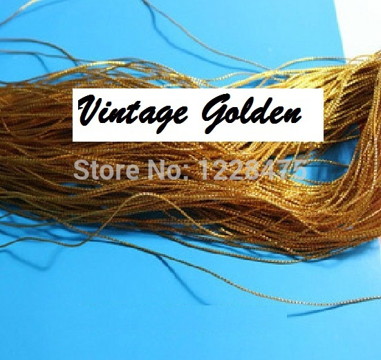 Creative DIY Multifunction Golden Line used for tag/for gift package/Wholesale(China (Mainland))