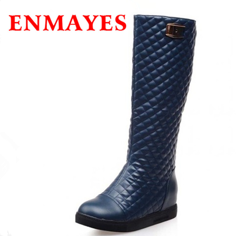 New sexy Women fashion Boots simple elegant Round toe high quality Ankle boots for women platform snow motorcycle Boots<br><br>Aliexpress