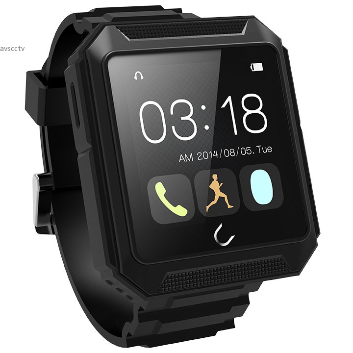 IP68 Waterproof Bluetooth Pedometer U Watch Compass Smart Watch for Android for 35