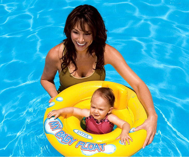 Flotador Sale New Child Intex 2015 American Safety Swimming Float Baby Seat Swim Ring Inflatable Children Floating Pool Toys 0-3(China (Mainland))