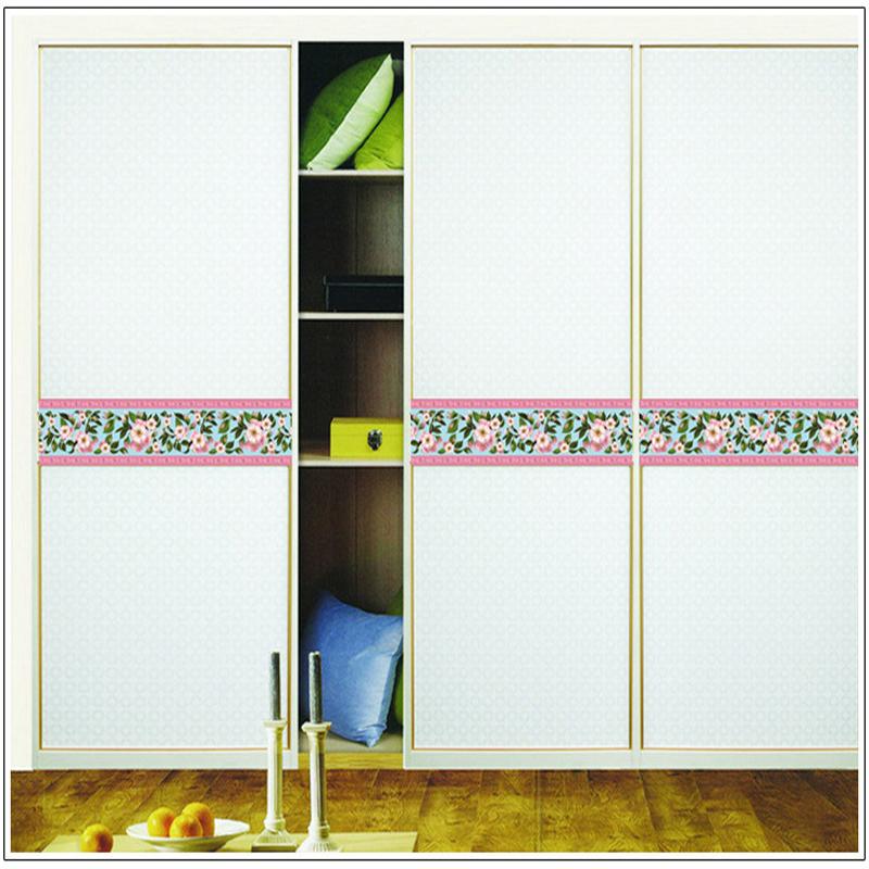 Achetez en gros porte coulissante en verre d cor en ligne des grossistes po - Stickers porte coulissante ...