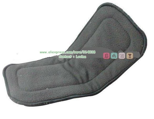 Bamboo charcoal insert 5 layers 5pcs for baby diaper