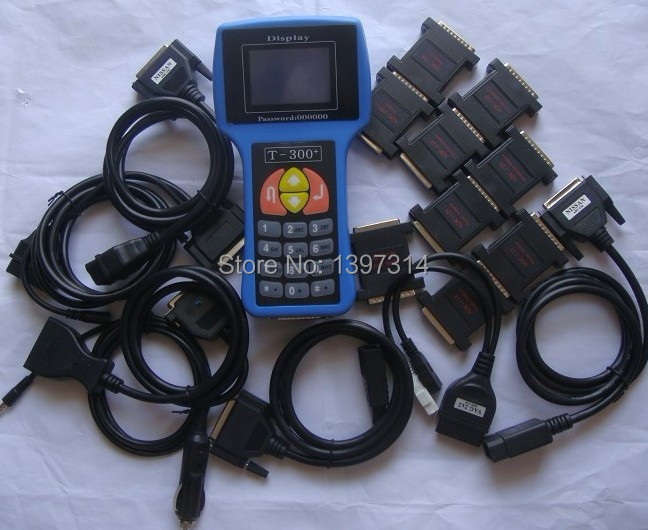 T300 key programmer with full cables and adapters support all kinds of Vehicle perfectly(China (Mainland))