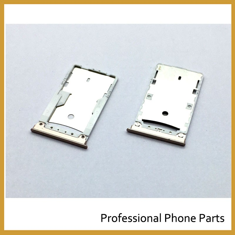 Silvery/Golden Original New SIM Card Tray Slot Holder For xiaomi MI MAX Replacement Parts