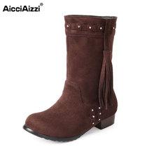 Tamaño 30-49 mujeres planas media corta botas de nieve de invierno de color del arco iris de arranque moda calzado botas cálidas zapatos feminina P19471(China (Mainland))
