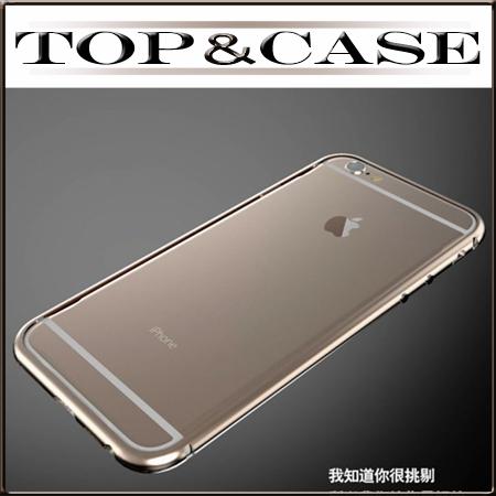 Чехол для iPhone 6 с 4,7-дюймовый роскошный Алюминиевый металлический бампер Жесткий Чехол SJ0747