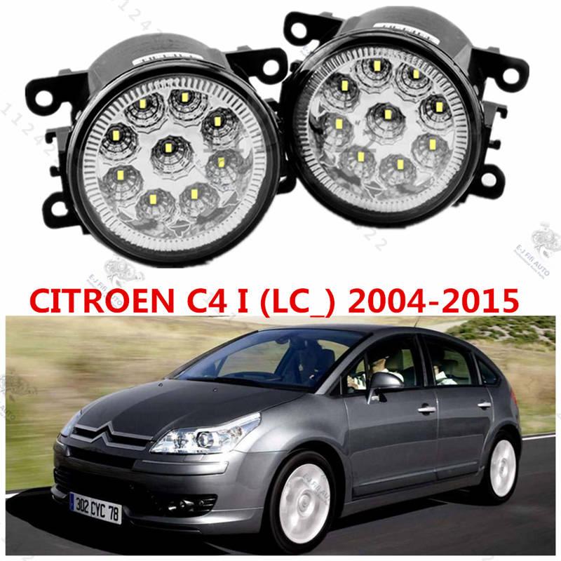 for Car styling front bumper high brightness LED Fog lights CITROEN C4 I (LC_) 2004-2015 car led fog lamps  1set