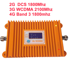 Buy 2G DCS repeater & 3G WCDMA & 4G booster Band 3 FDD LTE 4G booster 22dbm 65dbi LCD display mobile FDD booster repeater 4G booster for $89.99 in AliExpress store