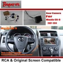Buy Car Rear View Camera / Back Reverse Camera Sets Mazda CX-9 CX9 CX 9 2007~2014 / RCA & Original Screen Compatible for $26.85 in AliExpress store