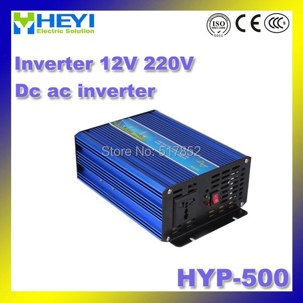 Inverter 12V 220V Input HYP-500 dc ac inverter 500W pure sine wave inverter 50/60Hz Working hunidity: 20%~90%RH<br><br>Aliexpress