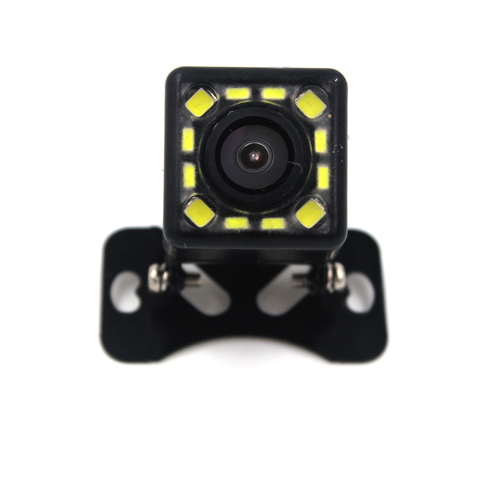 2017 NEW 12 LED Night Wide View Angle Parking Assistance Car Camera Universal Waterproof HD CCD Car Rear View Camera(China (Mainland))