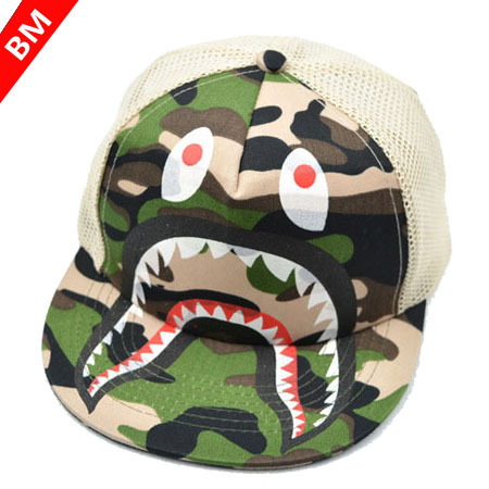 2015 New Mesh Hat Children Snapback Casquette Cartoon Baby Sharks Monster Baseball Cap Last Kings(China (Mainland))