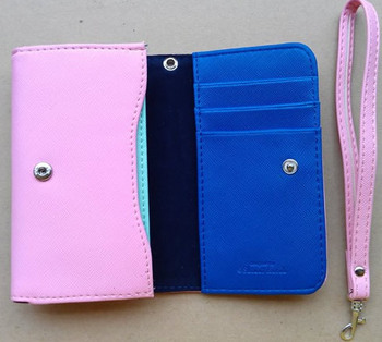 2012  Fashion  Mobile phone universal packet | multi-functional wallet | mobile phone bag 7 color choose,10pcs/lot