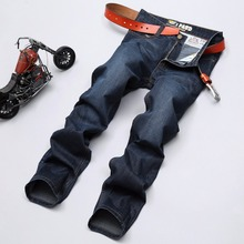 2016 New Arrival Spring brand Men Jeans Trousers 100% Cotton fashion designer men brand Jeans Top Quality Jeans hot sale Free