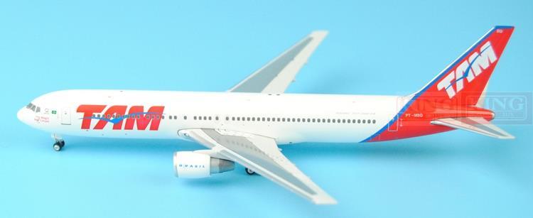 Phoenix 10619* B767-3OOER PT-MSQ 1:400 Brazil Pegasus Airlines commercial jetliners plane model hobby(China (Mainland))